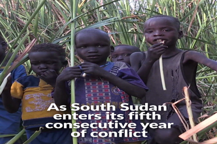 Food Insecurity Extreme Levels in South Sudan