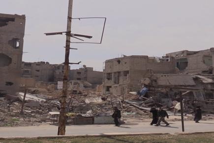 Life-Saving Food Assistance Delivered to Douma, Syria