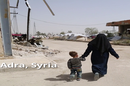 Syria, Adra City and Its Rural IDPs Shelters