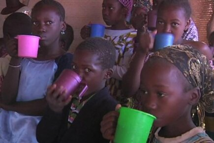 Emergency School Meals Provide Comfort And Nutrition To Kids In Mali