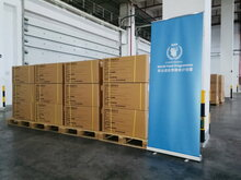 WFP launches a global humanitarian hub in China to support efforts against COVID -19