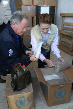 Unicef, WFP chiefs wrap up two-day visit to Syria, see impact of conflict on children and families