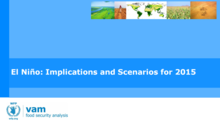 El Niño - Implications and Scenarios for 2015, July 2015