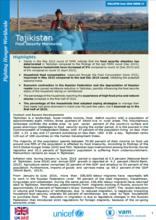 Tajikistan - Food Security Monitoring System, 2016