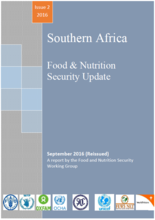 Southern Africa - Food and Nutrition Security Working Group, 2016