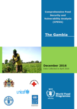 The Gambia - Comprehensive Food Security and Vulnerability Analysis (CFSVA), December 2016