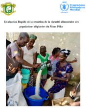 Côte d'Ivoire - Evaluation rapide de la situation de la sécurité alimentaire des populations déplacées du Mont Péko, January 2017