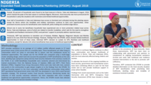 Nigeria - Expanded Food Security Outcome Monitoring (EFSOM): August 2018