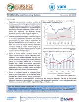 FEWS Net/WFP Market Monitoring Bulletin, November 2018