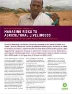 HARITA / R4 Rural Resilience Initiative in Ethiopia - Impact Evaluation (2014)