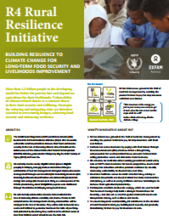 R4 Rural Resilience Initiative Factsheet (2016)