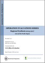 Operation Evaluations Series, Regional Synthesis 2013-2017: Asia and the Pacific Region