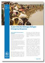 2018 - A Year into the Rohingya Refugee Emergency Response