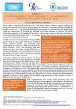 Armenia - Comprehensive Food Security, Vulnerability Analysis (CFSVA) Update, 2017