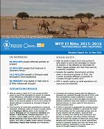 Situation Report - El Niño 2015-2016