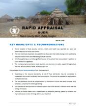 South Sudan - Rapid Appraisal: Guer, Nyirol county (Bieh state), Jonglei, April 2018