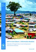 WFP in Cox's Bazar Information Booklet