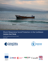 Shock-responsive social protection in Latin America and the Caribbean - Jamaica Case Study