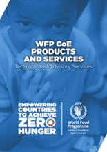 WFP CoE - Products & Services