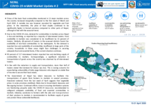 WFP Nepal - COVID-19  mVAM Market Update no. 2