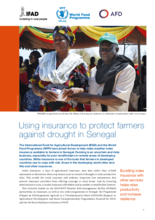 2018- Using insurance to protect farmers against drought in Senegal