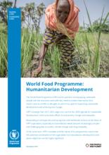 2019 - WFP : Humanitarian Development