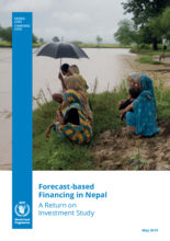 Forecast-based Financing in Nepal - A Return on Investment Study