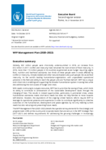 WFP Management Plan (2020–2022)
