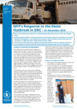 Situation Report - Democratic Republic of Congo