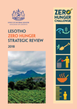 Lesotho Zero Hunger Strategic Review 2018