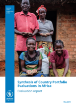 Synthesis of WFP's country portfolio evaluations in Africa (2016-2018)