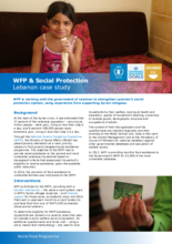 2017 - WFP and Social Protection -  Lebanon Case Study