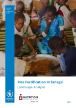 2019 -Rice Fortification in Senegal - Landscape Analysis