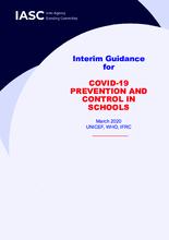 Interim guidance for COVID-19 prevention and control in schools