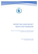 2018 - Sri Lanka - Report on Flood Impact - North East Monsoon