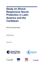 Study on Shock- Responsive Social Protection in Latin America and the Caribbean