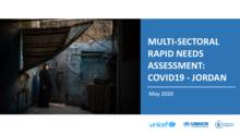 Multi-Sectoral Rapid Needs Assessment: COVID-19 - Jordan