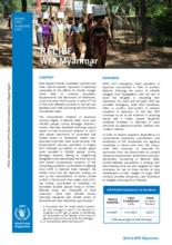 WFP Myanmar - Relief