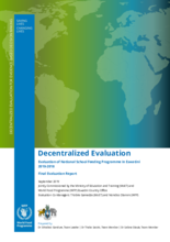 Eswatini, Evaluation of the National School Feeding Programme (2010-2018)