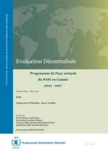 Guinea, Country Programme 200326: an evaluation