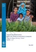 Analyse & opportunités pour une approche résilience commune dans les camps de réfugiés Sahraouis en Algérie