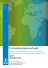 El Niño response in the Dry Corridor of Central America: an evaluation