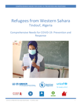 Comprehensive Needs for COVID-19: Prevention and Response -  Refugees from Western Sahara Tindouf, Algeria