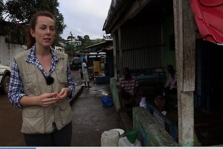 WFP Uses its Logistics Expertise to Build Ebola Treatment Units (For the Media)